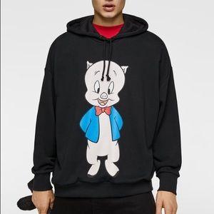 Zara Looney Tunes Porky sweatshirt